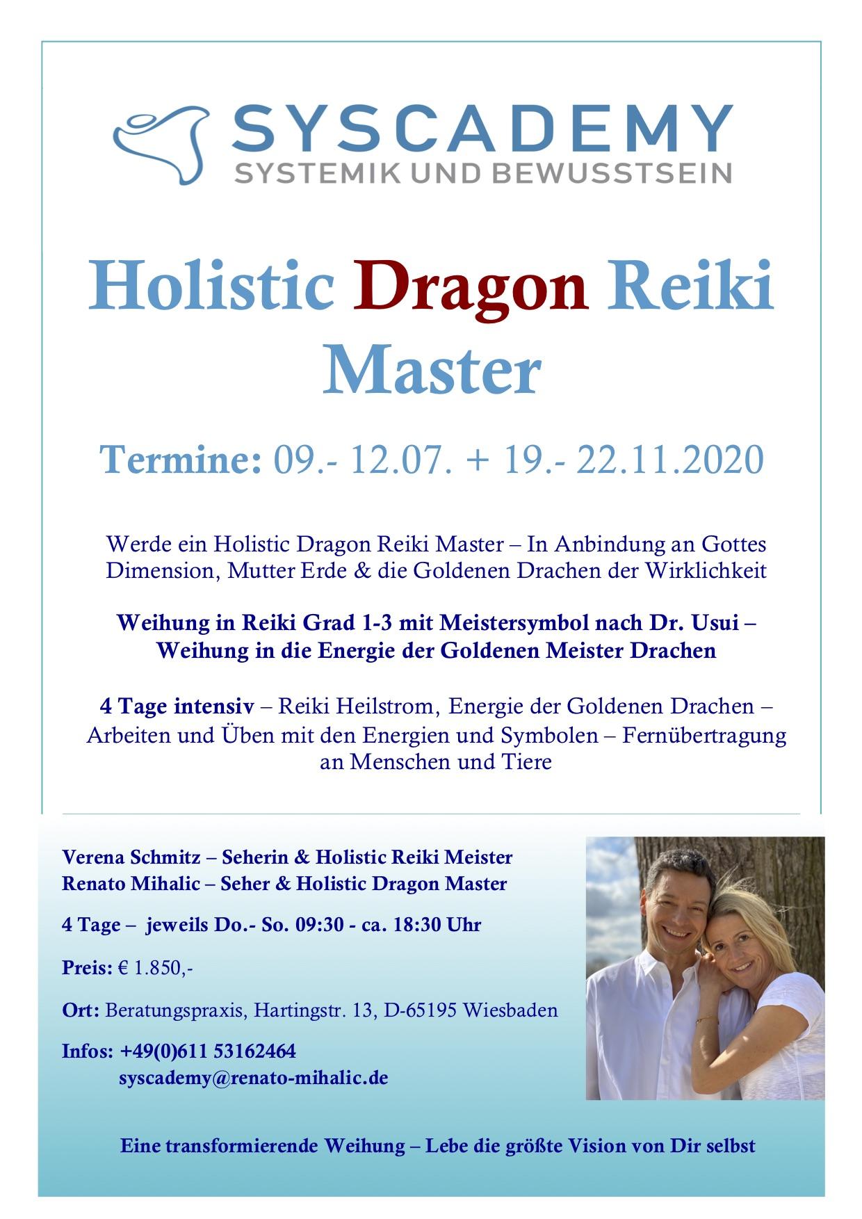 Flyer_Dragon Reiki Master